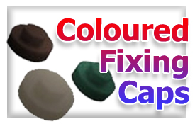 Coloured screw caps